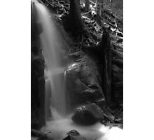Shower of the stone Photographic Print