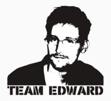 Team Edward Snowden by RightsAdvocate