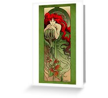 Poison Greeting Card