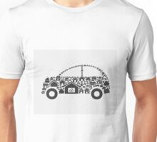 House the car Unisex T-Shirt