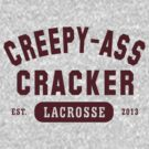 Creepy Ass Cracker TShirt by BroadcastMedia