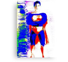 Supes Canvas Print