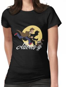The Adventures of Doctor Who Womens Fitted T-Shirt
