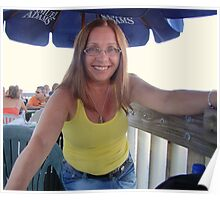 Me at the Pier.... Old Orchard Beach Pier Poster