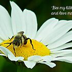 Bee my little honey. by Linda Pollock