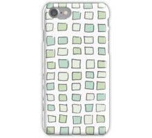 Sea Glass City Blocks iPhone Case/Skin