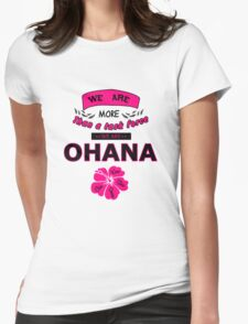 H50 Ohana Womens Fitted T-Shirt