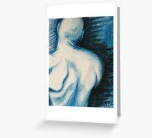 Cold Shoulder Greeting Card