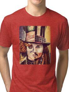 johnny deep Tri-blend T-Shirt