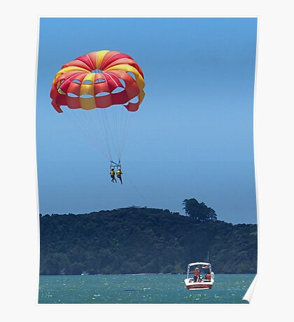 Love is...........two on a paragliding trip .......! Poster