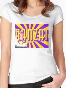 Banzai!!! Women's Fitted Scoop T-Shirt