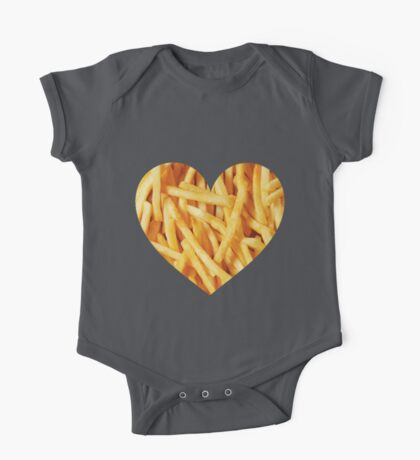 Fries Love One Piece - Short Sleeve