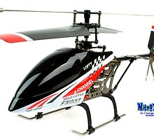 4CH Carbon Remote Controlled Helicopter by adam258