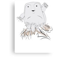 Doctor who AWWW He's such a cute growth!!! Canvas Print