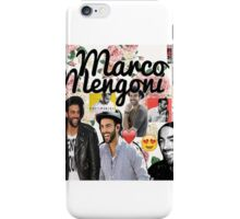 Marco Mengoni collage iPhone Case/Skin
