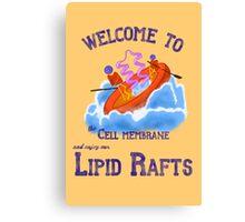 Lipid Raft Canvas Print