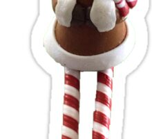 deer christmas Sticker