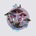 Magic mushrooms 2 by Susan Craig