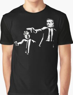 Game Of Thrones Pulp Fiction Graphic T-Shirt