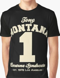 Tony Montana Graphic T-Shirt