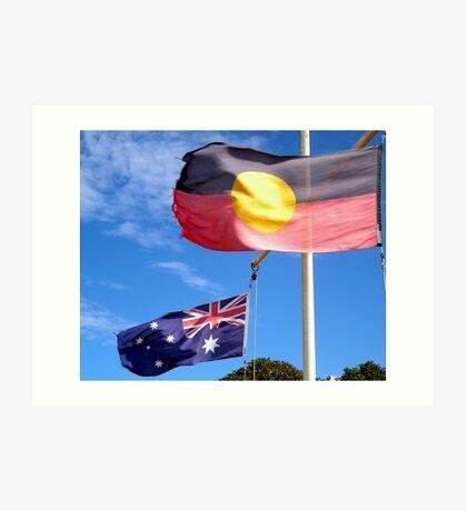 Aborigine & Australian Art Print