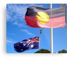 Aborigine & Australian Metal Print