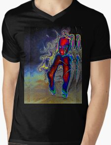 Nightmare Barbie Mens V-Neck T-Shirt