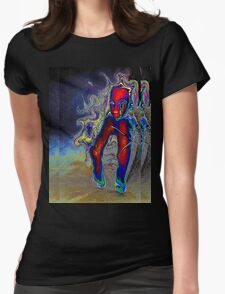 Nightmare Barbie Womens Fitted T-Shirt