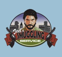 Joel's Smuggling Service by coinbox tees