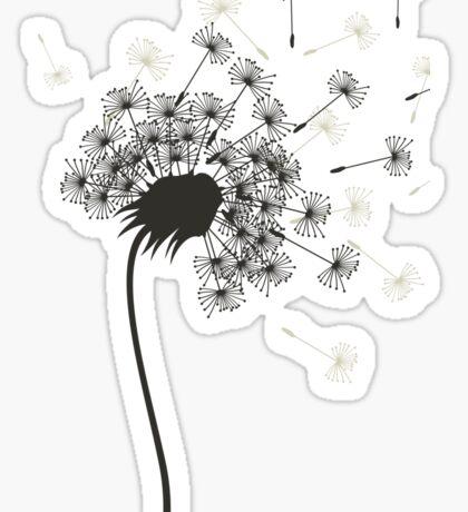 Flower a dandelion Sticker