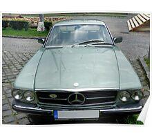 Vintage 1977 Old but Dandy Mercedes Poster