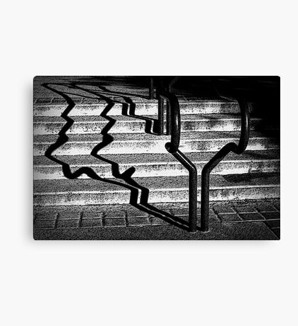 Shadow Stepping Canvas Print