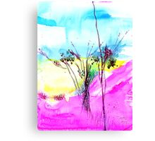 Sky Fall Canvas Print