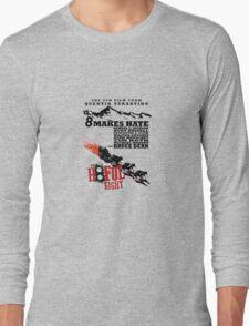 The Hate full eight quentin tarantino Long Sleeve T-Shirt