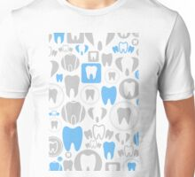 Tooth a background Unisex T-Shirt