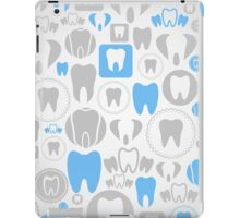 Tooth a background iPad Case/Skin