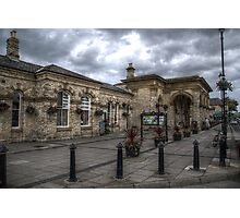 Saltburn Station Photographic Print