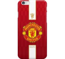 manchester united SQUARE GOLD iPhone Case/Skin