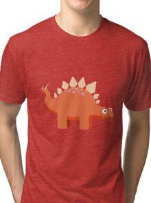Steggy the Stegosaurus Tri-blend T-Shirt