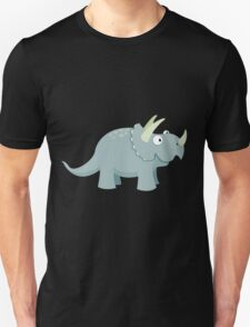 Trikey the Triceratops Unisex T-Shirt
