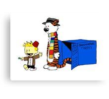 Calvin Who Canvas Print