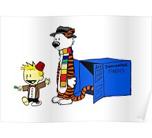 Calvin Who Poster