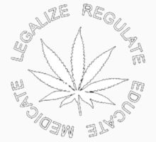 Legalize - Regulate - Medicate - Educate by Drasmatic