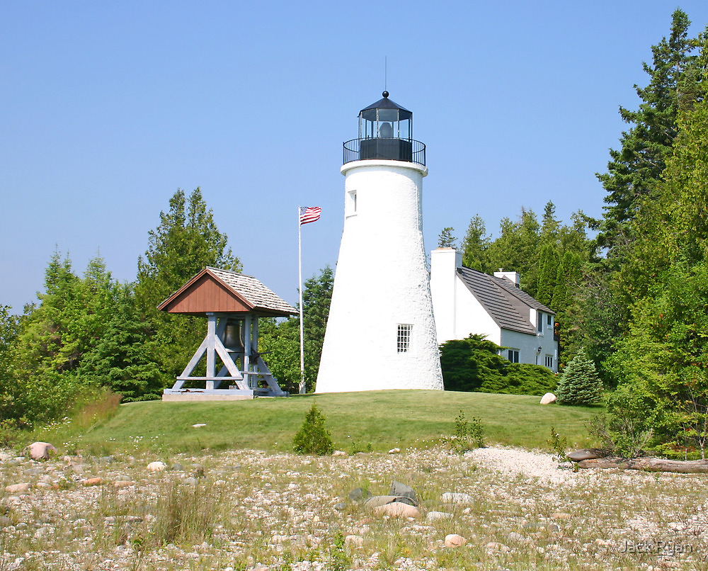 Old Presque Isle Lighthouse by Jack Ryan