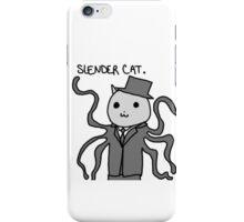 Slender Cat iPhone Case/Skin