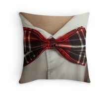 A geek at heart Throw Pillow