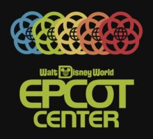 Rainbow Epcot Retro Green by AngrySaint