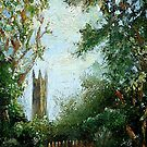 Princeton University Landscape by Monica Vanzant