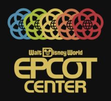 Rainbow Epcot Retro Yellow by AngrySaint