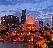 2013 Chicago Blackhawks Skyline by ChicagoPhotoSho